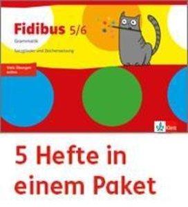 Fidibus 5/6. Arbeitsheft - 5er Paket Klasse 5/6. Grammatik - Sat
