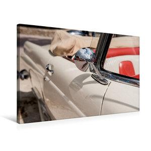 Premium Textil-Leinwand 75 cm x 50 cm quer Ford Thunderbird Conv