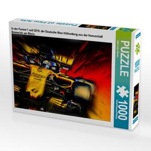 CALVENDO Puzzle In der Formel 1 seit 2010: der Deutsche Nico Hül