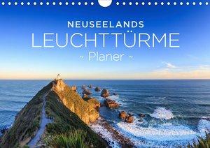Neuseelands Leuchttürme - Planer (Wandkalender 2020 DIN A4 quer)