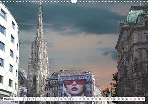 Wien, eine Hauptstadt mit Flair (Wandkalender 2020 DIN A3 quer)