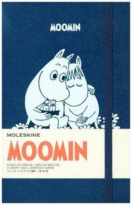 Moleskine Notizbuch - Mumins Large, A5, Liniert, Hard Cover, Bla
