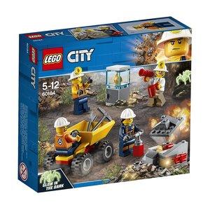 LEGO® City 60184 - Bergbauprofis Bergbauteam, Konstruktionsspiel