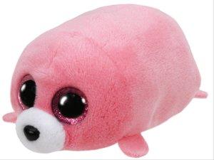 TEENY TY Seaweed-Robbe pink, ca. 10cm