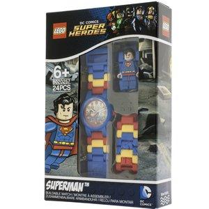 Lego Unisex-Armbanduhr DC Universe Superman Analog Quarz Plastik