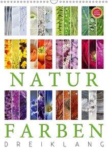 Natur Farben Dreiklang