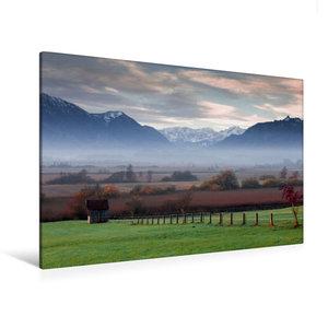 Premium Textil-Leinwand 120 cm x 80 cm quer Murnauer Moos