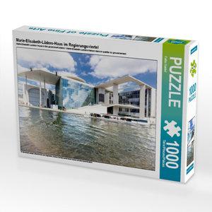 Marie-Elisabeth-Lüders-Haus im Regierungsviertel 1000 Teile Puzz