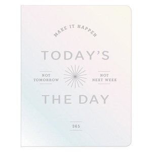 Today\'s the Day Holographic Deluxe Pocket Undated Planner