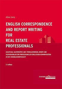 English Correspondence and Report Writing for Real Estate Profes