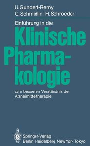 Einführung in die Klinische Pharmakologie