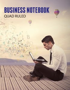 Business Notebook, Quad Ruled