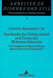 Saarländischer Feldpostbrief und Deutscher Wehrmachtbericht