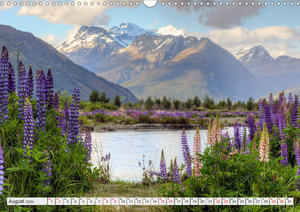 Neuseeland Südinsel - Spektakuläre Naturlandschaften im Kiwiland