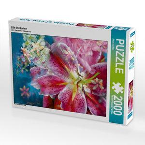 CALVENDO Puzzle Lilie Im Garten 2000 Teile Lege-Größe 67 x 90 cm