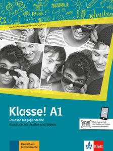Klasse! A1. Kursbuch mit Audios und Videos online