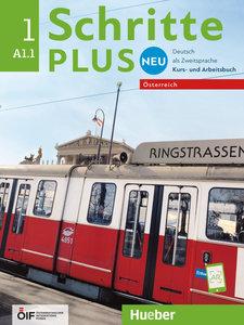 Schritte plus Neu 1 - Österreich. Kursbuch + Arbeitsbuch mit Aud