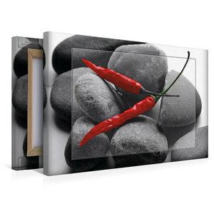 Premium Textil-Leinwand 45 cm x 30 cm quer Hot Chili
