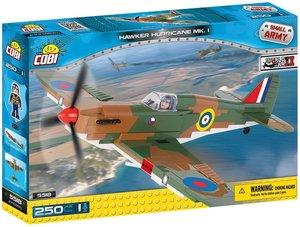 Cobi 5518 - Small Army, Hawker Hurricane MK. I, Grundjagdflugzeu