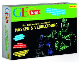 Das Halloween-Leuchtset Masken und Verkleidung (Experimentierkas