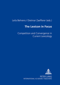 The Lexicon in Focus