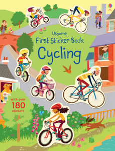 First Sticker Book Cycling