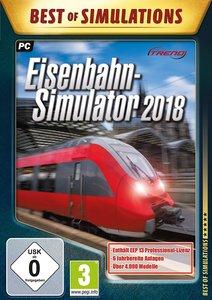 Eisenbahn-Simulator 2018, 1 CD-ROM