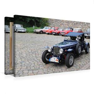 Premium Textil-Leinwand 75 cm x 50 cm quer Triumph Herold, Bauja