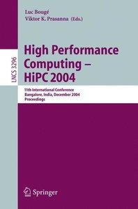 High Performance Computing - HiPC 2004