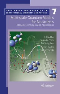 Multi-scale Quantum Models for Biocatalysis