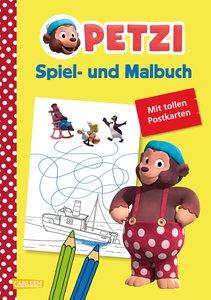 Petzi: Spiel- und Malbuch