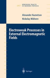 Electroweak Processes in External Electromagnetic Fields