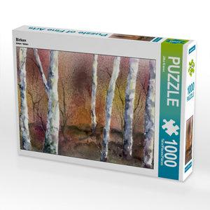 Birken 1000 Teile Puzzle quer