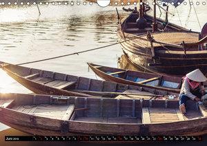 VIETNAM - Von Saigon nach Hanoi (Wandkalender 2019 DIN A4 quer)