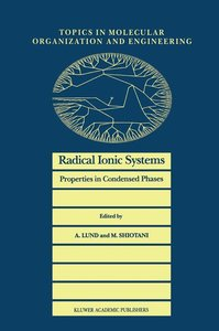 Radical Ionic Systems