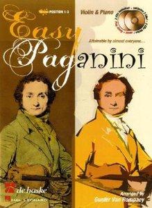 Easy Paganini, für Violine, mit 2 Audio-CDs