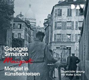 Maigret in Künstlerkreisen, 4 Audio-CDs