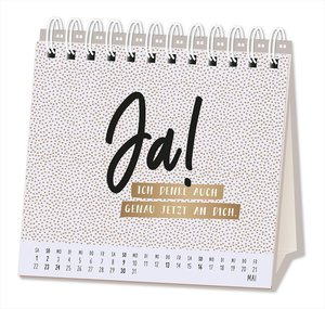 Tischkalender 2021 Du bist ein Goldstück