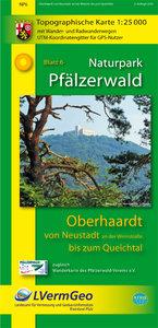 Naturpark Pfälzerwald Blatt 6 Oberhaardt von Neustadt an der Wei