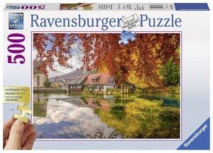 Mühle am Blautopf 300/500 T. Erw.puzzles