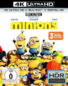 Minions 4K, 2 UHD-Blu-ray