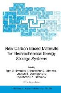 New Carbon Based Materials for Electrochemical Energy Storage Sy