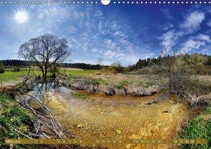 Landschaften im Altmühltal (Wandkalender 2018 DIN A3 quer)