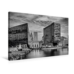Premium Textil-Leinwand 75 cm x 50 cm quer Liverpool
