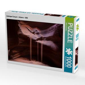 CALVENDO Puzzle Antelope Canyon - Arizona - USA 1000 Teile Lege-