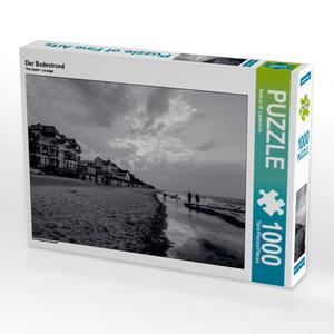 Der Badestrand 1000 Teile Puzzle quer