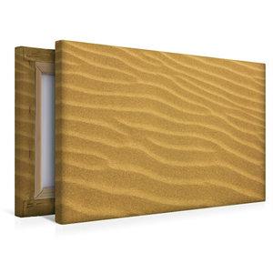 Premium Textil-Leinwand 45 cm x 30 cm quer Stille Sandidylle