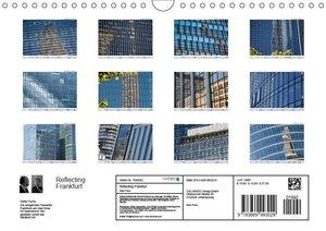 Reflecting Frankfurt (Wandkalender 2019 DIN A4 quer)
