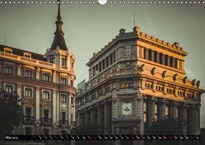 Hauptstadt Madrid (Wandkalender 2019 DIN A3 quer)