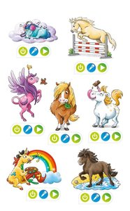 tiptoi® CREATE Sticker Pferde und Einhörner